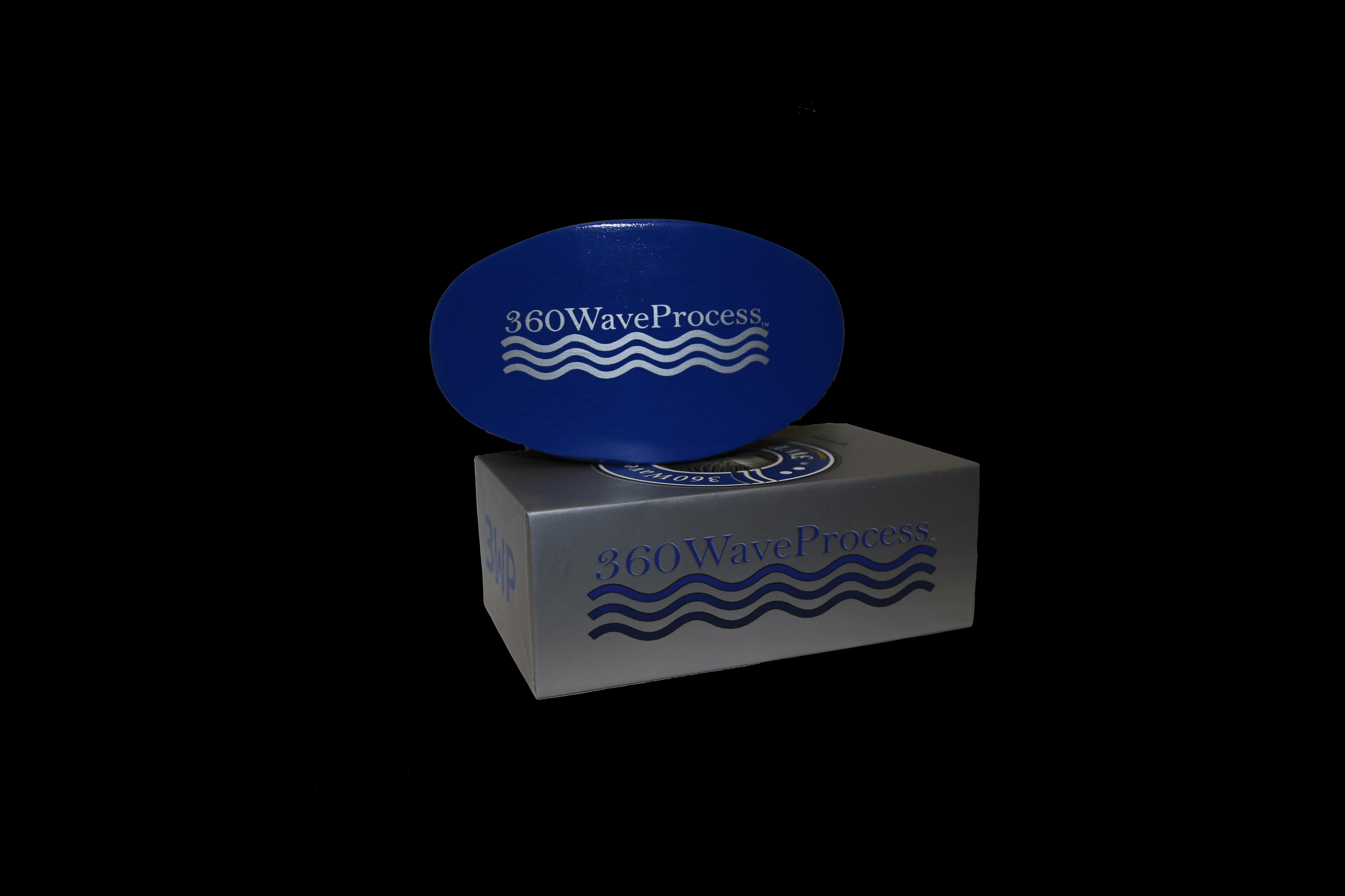 3wp Medium Wave Brush Blue 360waveprocess