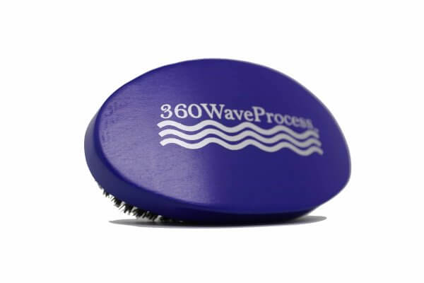 Blue 3WP Curved Oval 360 Wave Brush