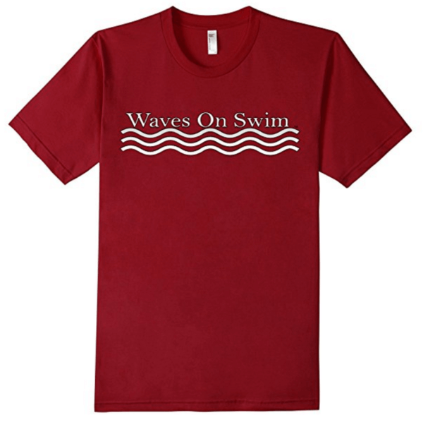 Waves on Swim T-shirt