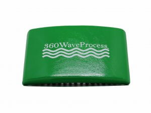 3WP Brush Green edition Curved square brush