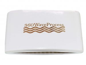 3WP Square white 360 wave brush