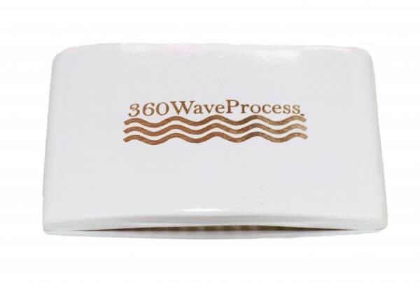 3WP Square white 360 wave brush