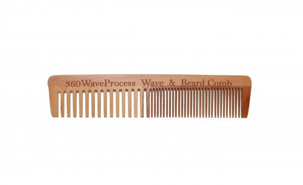 3WP Wooden Beard Comb