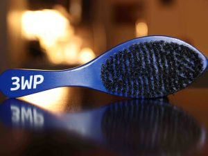 3WP wave brush blue handle