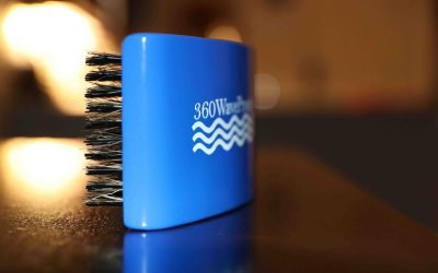 Square 3WP Wave Brush Blue