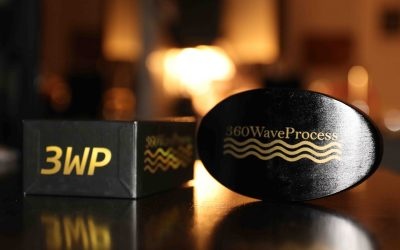 Black and gold 360 Wave Brush