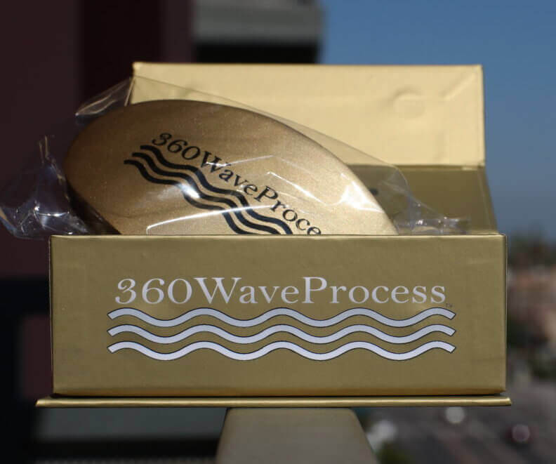3WP Gold 360 Wave Brush