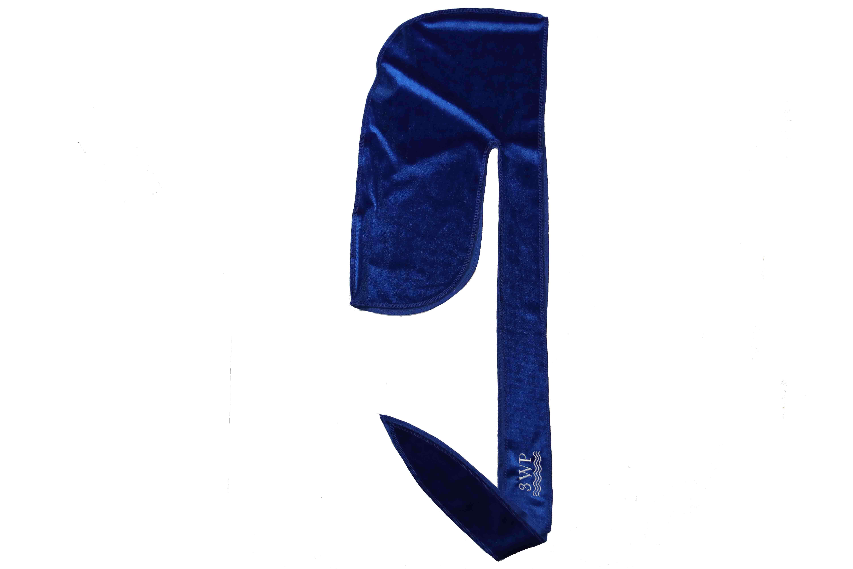 3WP Blue Velvet Durag