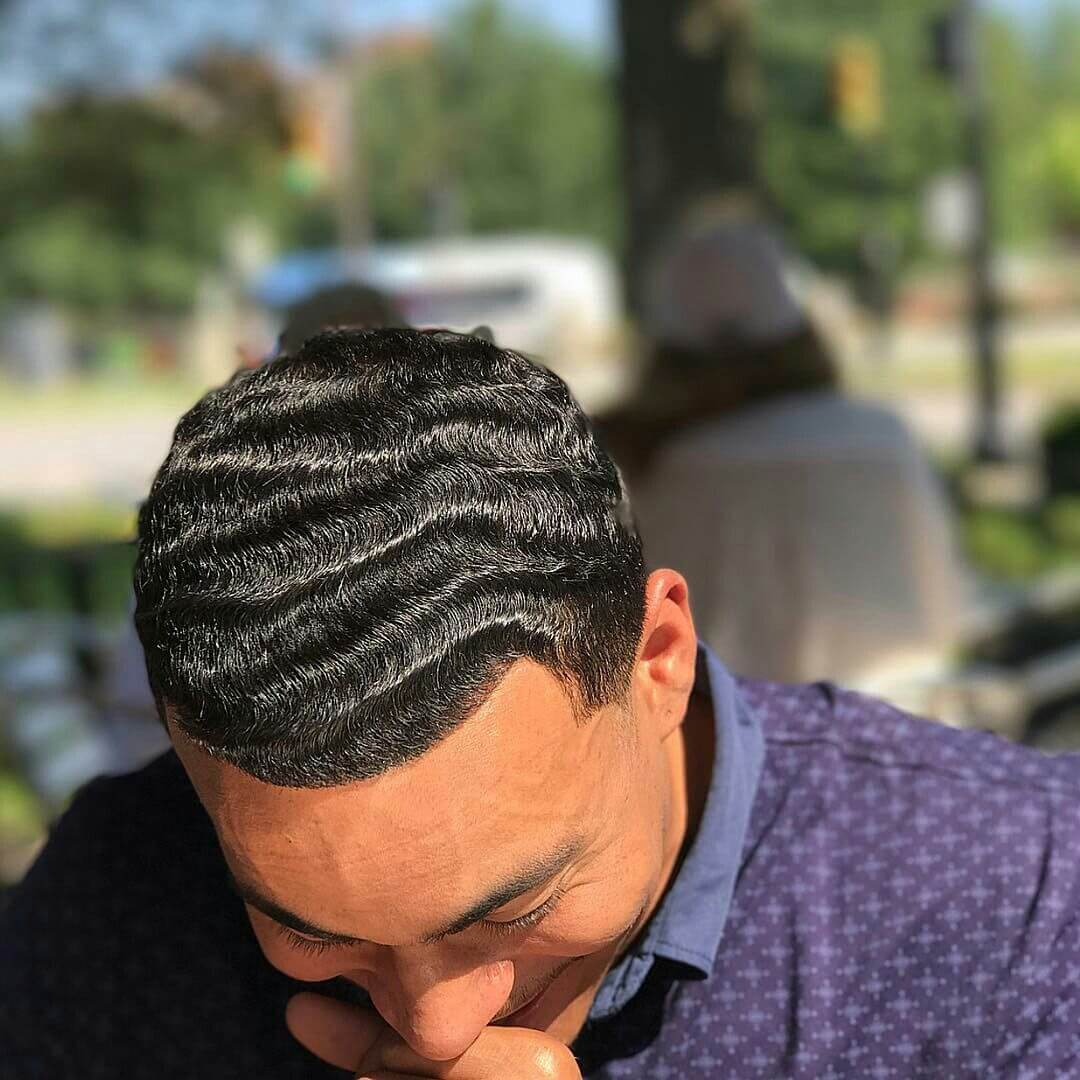 360 Waves Straight hair