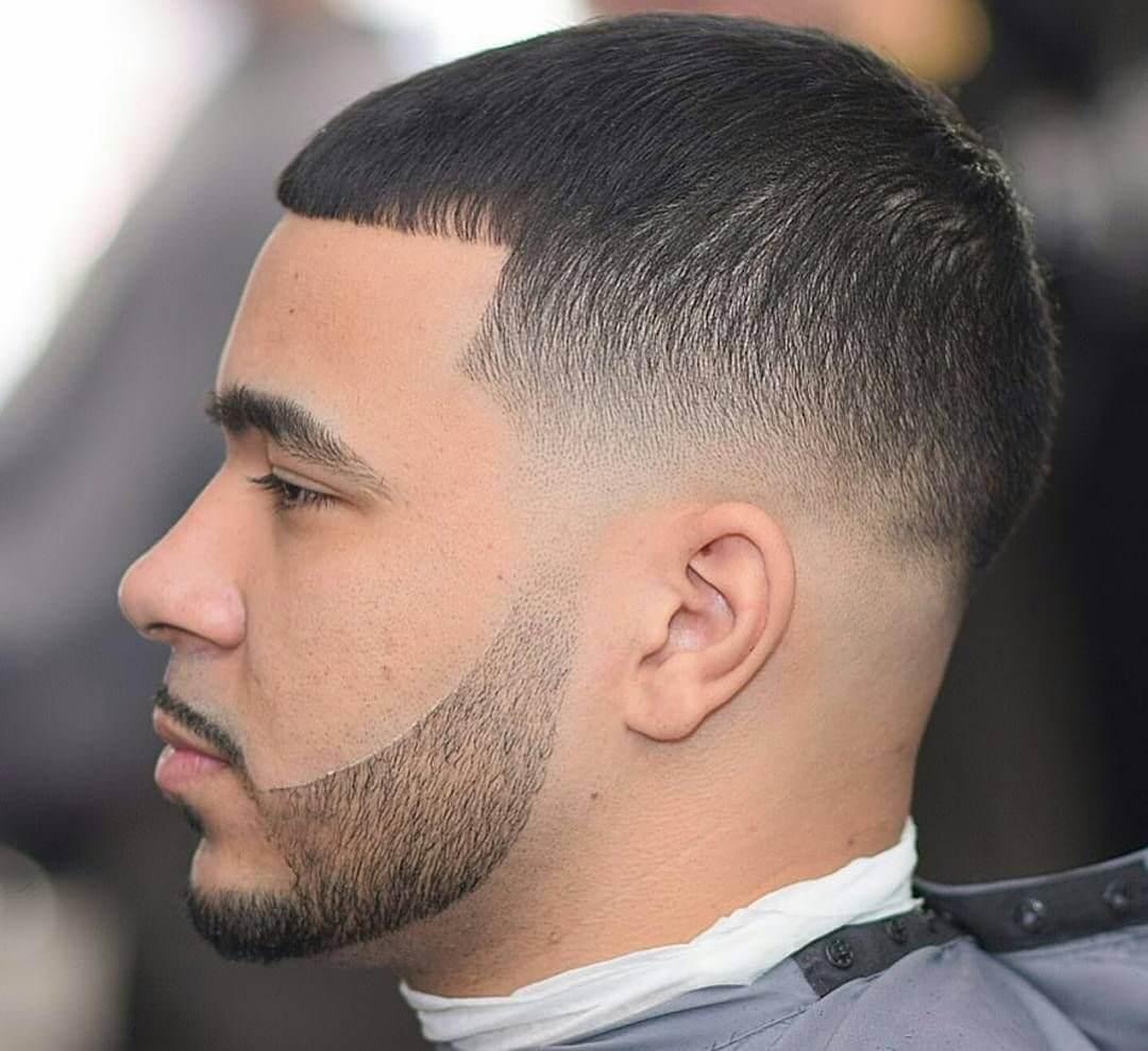 Straight hair texture