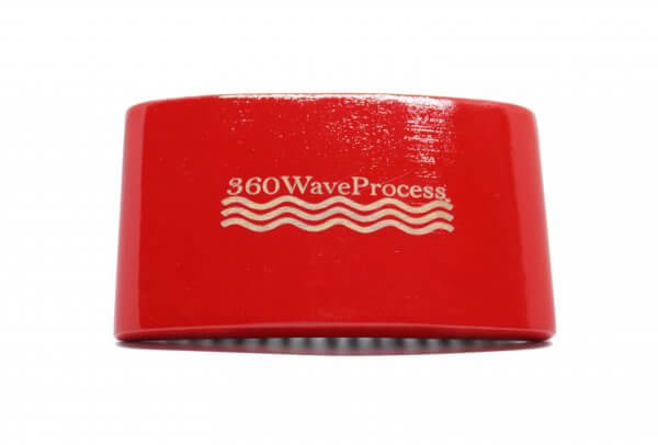 3WP Square Red 360 Wave Brush