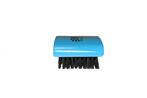 Softer Medium Bristle 360 Wave Brush. (Sky Blue)