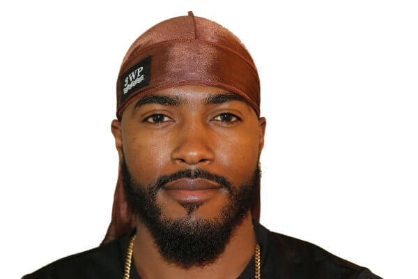 Chocolate Brown 3WP Silky Durag