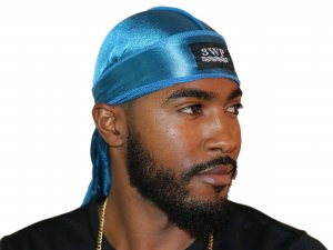 Turquoise 3WP Silky durag