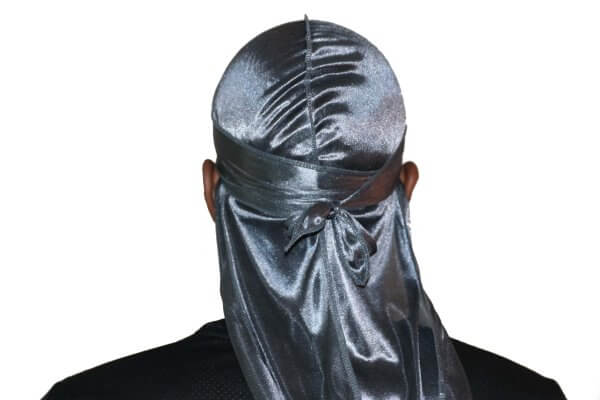 Dark Grey 3WP Silky durag