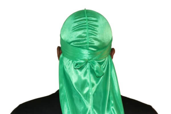 Lime green 3WP Silky Durag