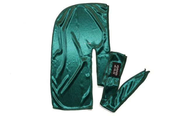 Emarld Green Silky Durag