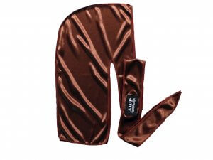 Chocolate bronze Silky Durag