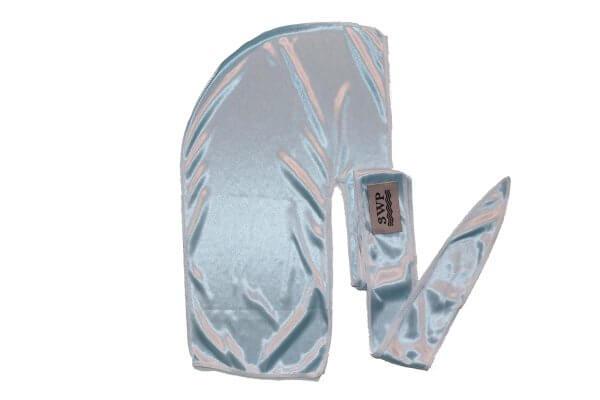 Baby blue 3WP silky durag