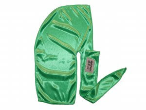 Green Silky Durag