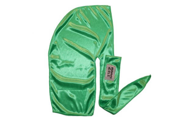 lime Green Silky Durag