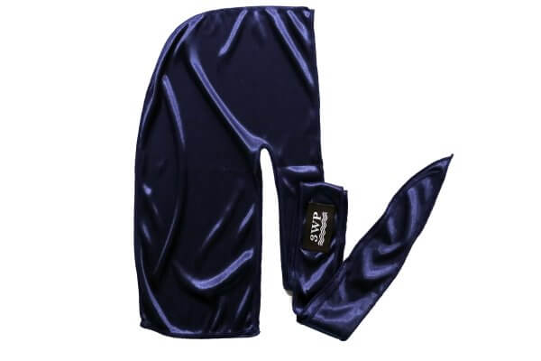 Navy blue 3wp silky durag
