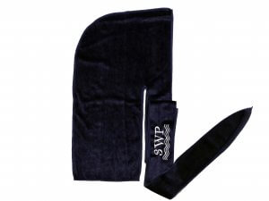 Navy Blue Velvet Durag