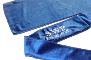 Blue Velvet Durag
