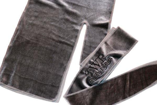 Grey Velvet Durah
