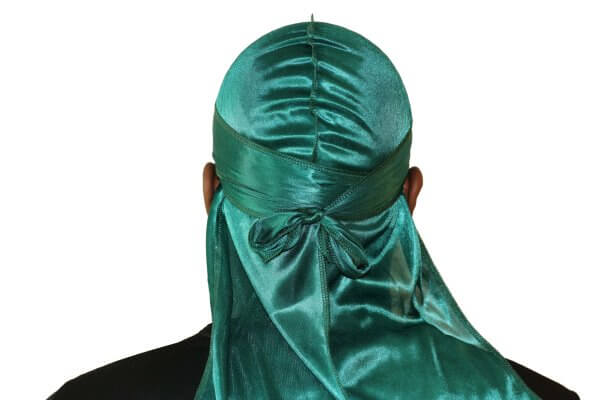 Emerald Green 3WP Silky Durag