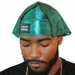 Emerald Green 3WP Silky Durag