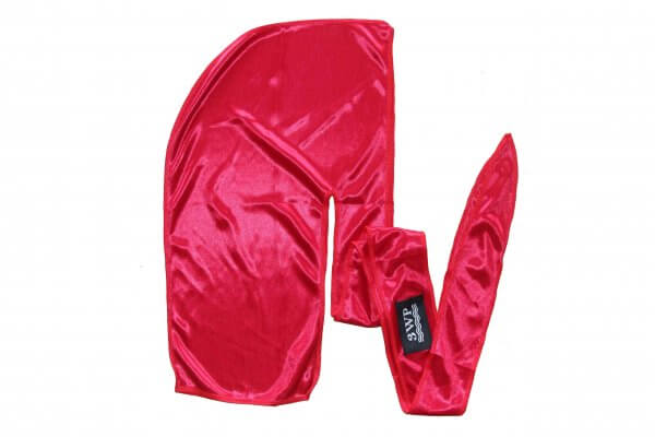 3WP Red Silky Durag