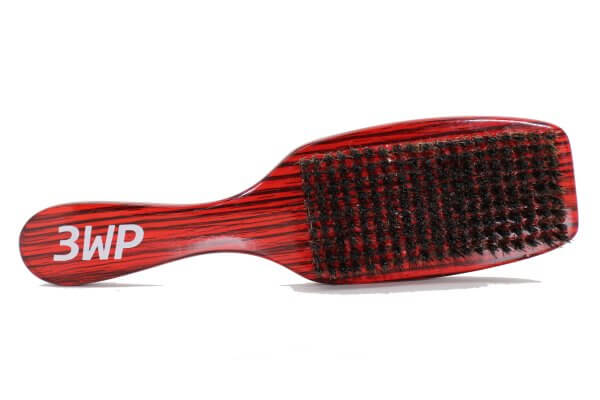 3WP Curved gloss red 360 Wave Fork Breaker Brush handle s line