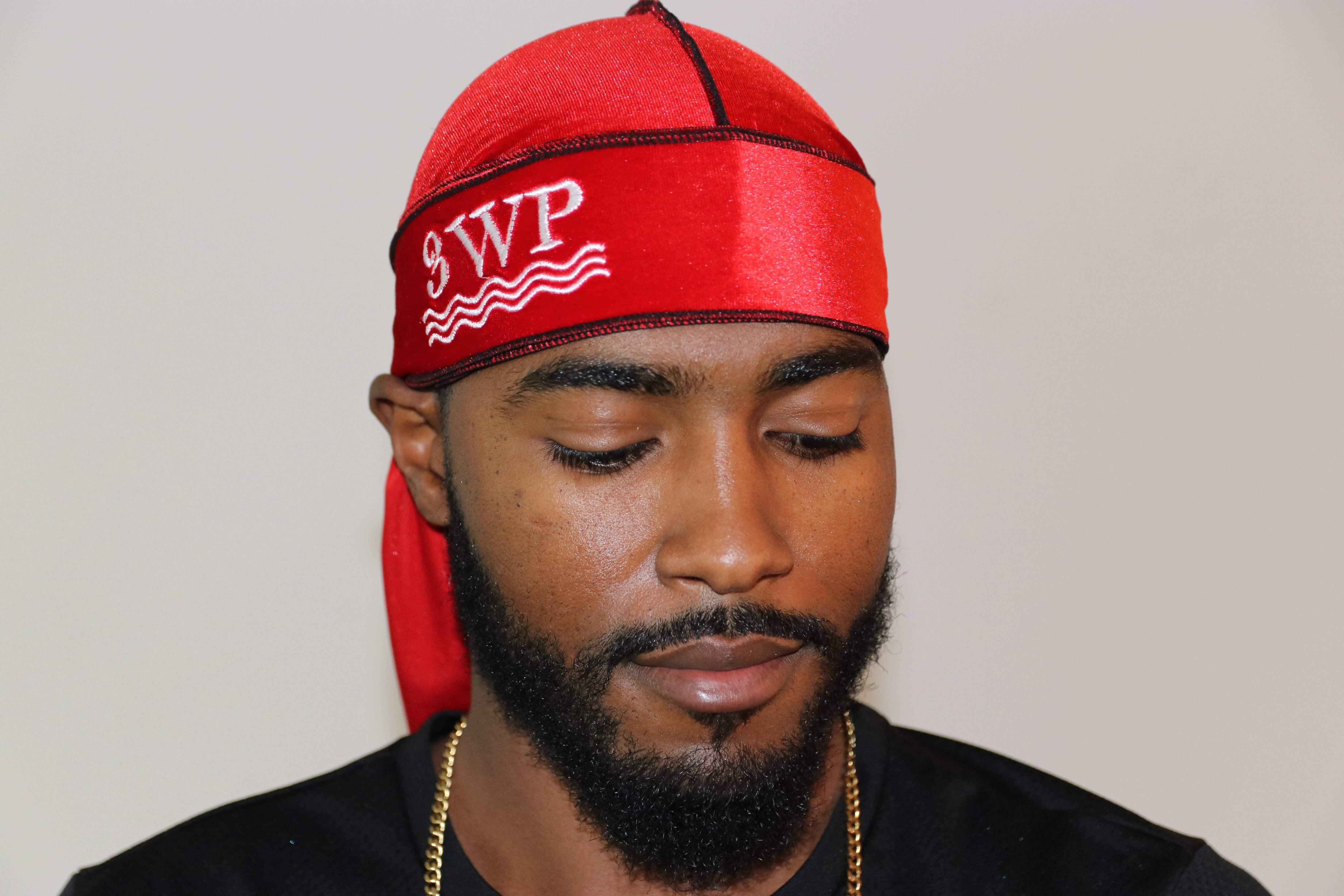 3WP Red Velvet black Stitch