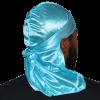 3WP Aqua blue Silky Durag